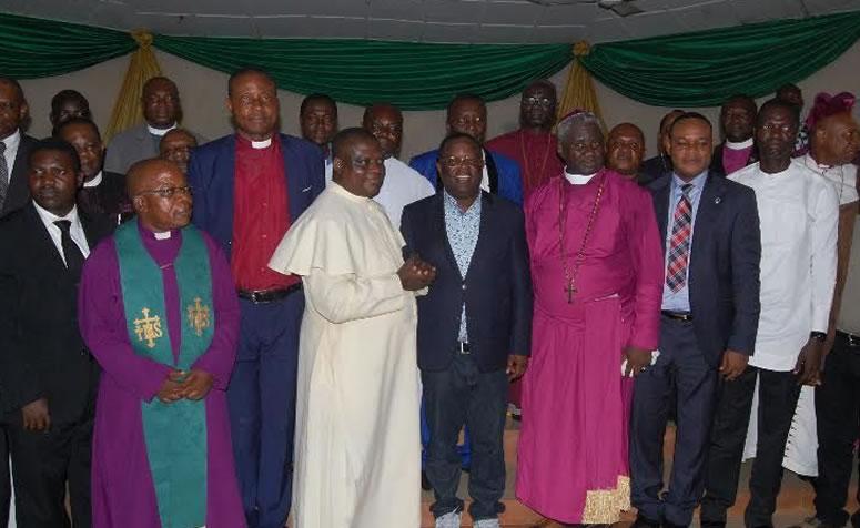 Chairman of the Christian Association of Nigeria (CAN) Ebonyi branch, Rev. Fr Abraham Nwali