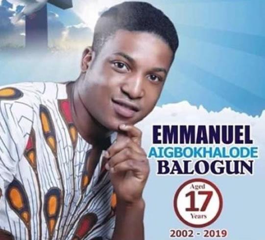 The Drowning of Emmanuel Balogun