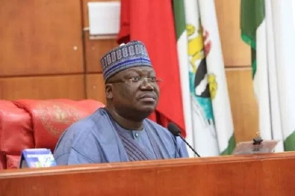 Nigeria President of the Senate Ahmed Lawan