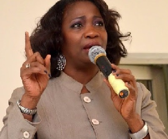 the Chairman of NIDCOM, Mrs Abike Dabiri-Erewa