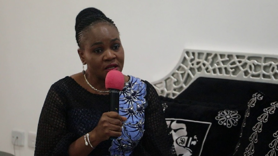 The Director General Nationa Centre for Women Development (NCWD)Mrs Mary Ekpere Eta